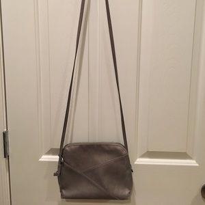Gray Crossbody Bag